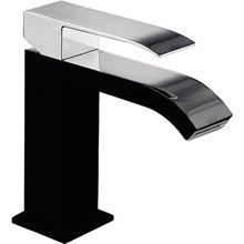 Grifo de lavabo Negro TRES S CUADRO