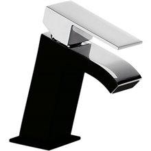 Grifo de lavabo Inclinado Negro CUADRO TRES