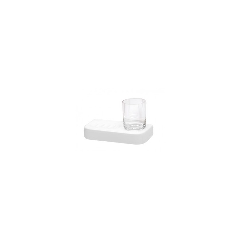 Jabonera + vaso VINTAGE