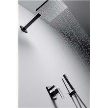 Conjunto de ducha 2 vías Bl/Ng TRES CUADRO