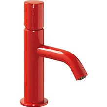Grifo de lavabo Rojo S TUB TRES STUDY