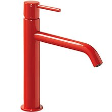 Grifo de lavabo Rojo M TRES STUDY