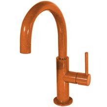 Grifo de lavabo Naranja en C TRES STUDY M
