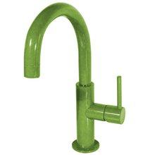 Grifo de lavabo Verde en C TRES STUDY M