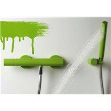 Kit de ducha Verde TRES STUDY
