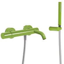Kit de Bañera-Ducha Verde TRES STUDY