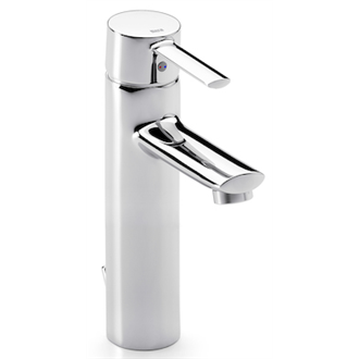 Grifo de lavabo caño alto Targa Roca