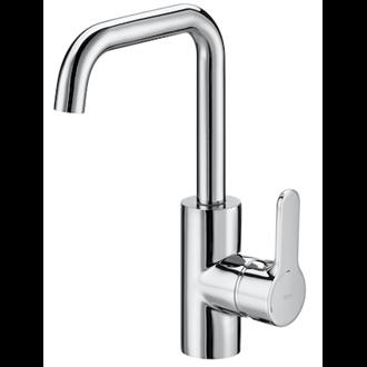 Grifo de lavabo maneta lateral integrada L20 Roca