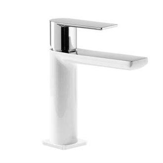 Grifo de lavabo Blanco S TRES LOFT
