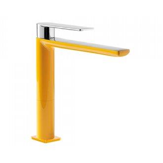 Grifo de lavabo Amarillo M TRES LOFT