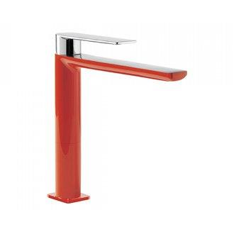 Grifo de lavabo Rojo M TRES LOFT