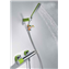 Kit de ducha Verde TRES LOFT