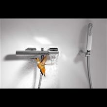 Kit de bañera-ducha Acero TRES LOFT