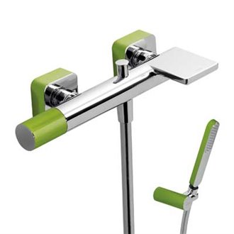 Kit de bañera-ducha Verde TRES LOFT