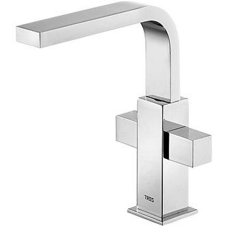 Grifo de lavabo Bimando M CUADRO-TRES RG