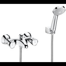 Grifo de bañera-ducha bimando exterior Loft Roca
