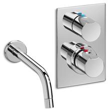 Grifo bañera-ducha termostático rociador Element Roca