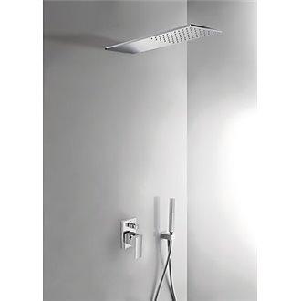 Conjunto de ducha 2 vías Compact CUADRO-TRES