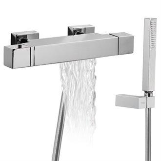 Kit de Bañera-Ducha termostática CUADRO-TRES