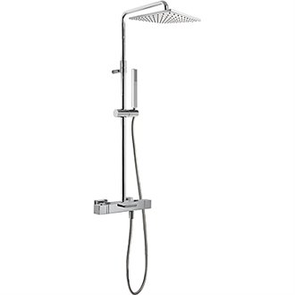 Columna de bañera-ducha termostática CUADRO-TRES