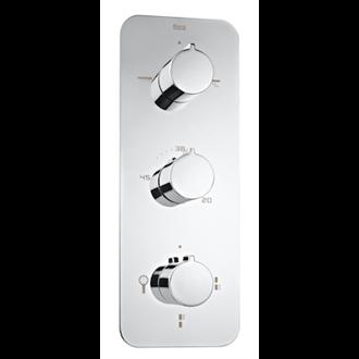 Grifo ducha termostático 5 vías Puzzle Roca
