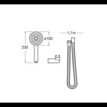 Kit de ducha 3 funciones Stella Roca