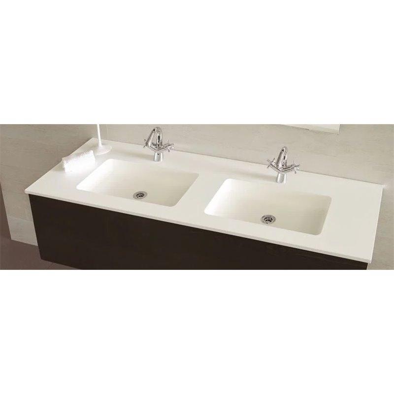 lavabo encimera selene 2 senos materiales de f brica