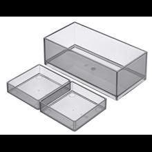 Caja organizadora rectangular Stratum-N Roca