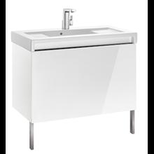 Mueble con lavabo 90cm blanco Stratum-N Roca