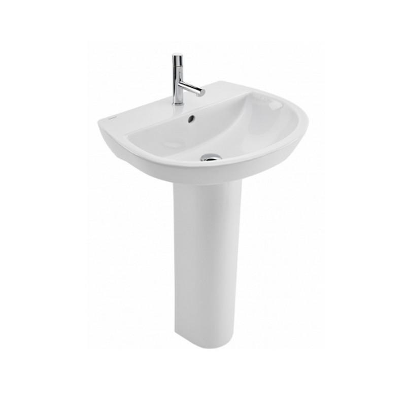 Lavabo con pedestal easy materiales de f brica for Lavabo the gap con pedestal
