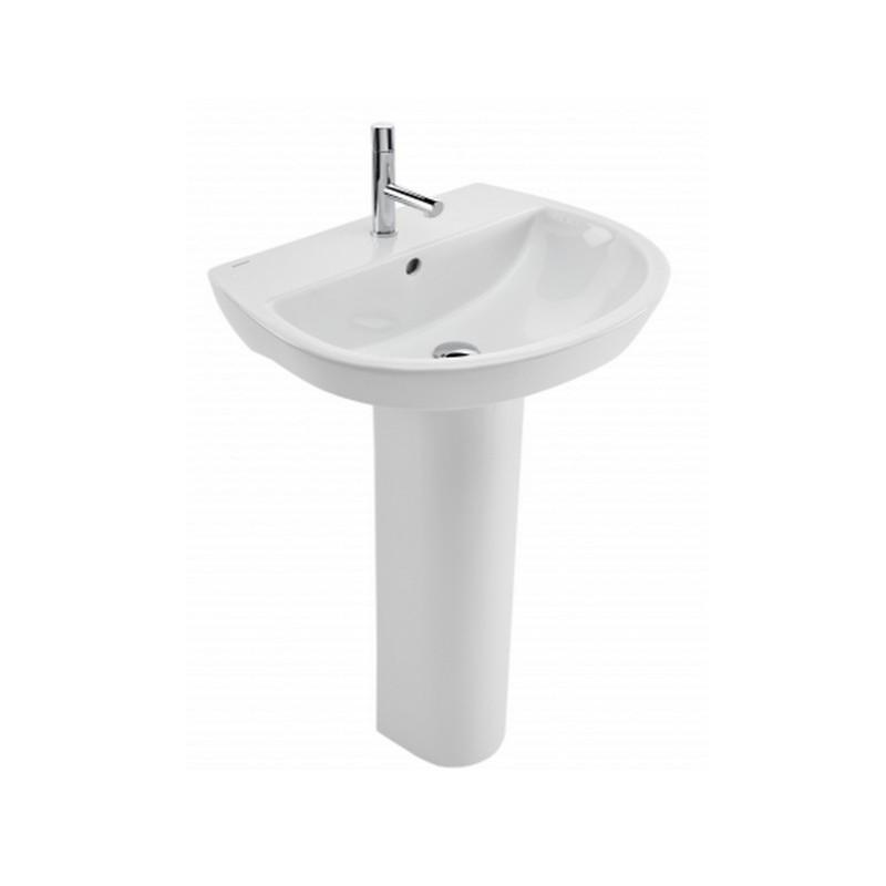 Lavabo con pedestal easy materiales de f brica for Lavabo con pedestal