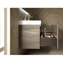 Pack mueble 130cm blanco Stratum-N Roca