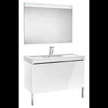Pack mueble con lavabo blanco 110 cm Stratum-N Roca