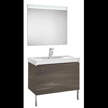 Pack mueble con lavabo 90 cm yosemite Stratum-N Roca