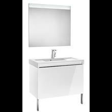 Pack mueble 90cm blanco Stratum-N Roca