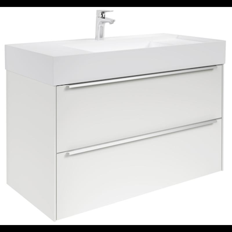 Mueble 100cm blanco inspira roca materiales de f brica for Mueble inspira roca