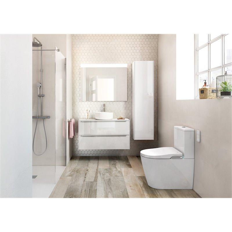 Mueble 100cm blanco inspira roca materiales de f brica for Inspira de roca