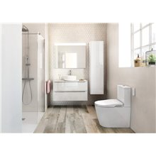 Mueble 80cm blanco Inspira Roca