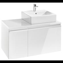 Mueble 90cm blanco brillo Heima Roca
