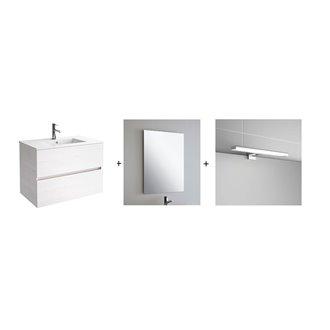 Conjunto baño SALGAR FUSSION LINE 1000 Sbiancato