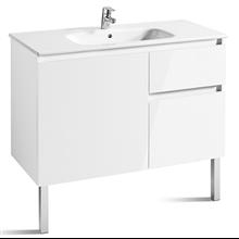 Mueble 100cm blanco Anima Roca