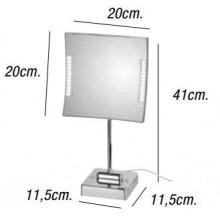 Espejo de aumento QUADROLO LED 3