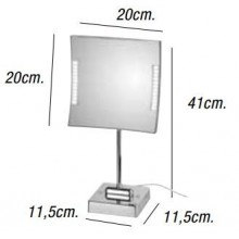 Espejo de aumento QUDRO LED 3