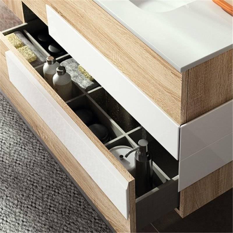 Muebles blanco roble 20170905111341 for Bancos de resina baratos