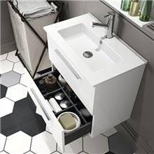 Mueble 61cm Blanco fondo reducido S35 SALGAR