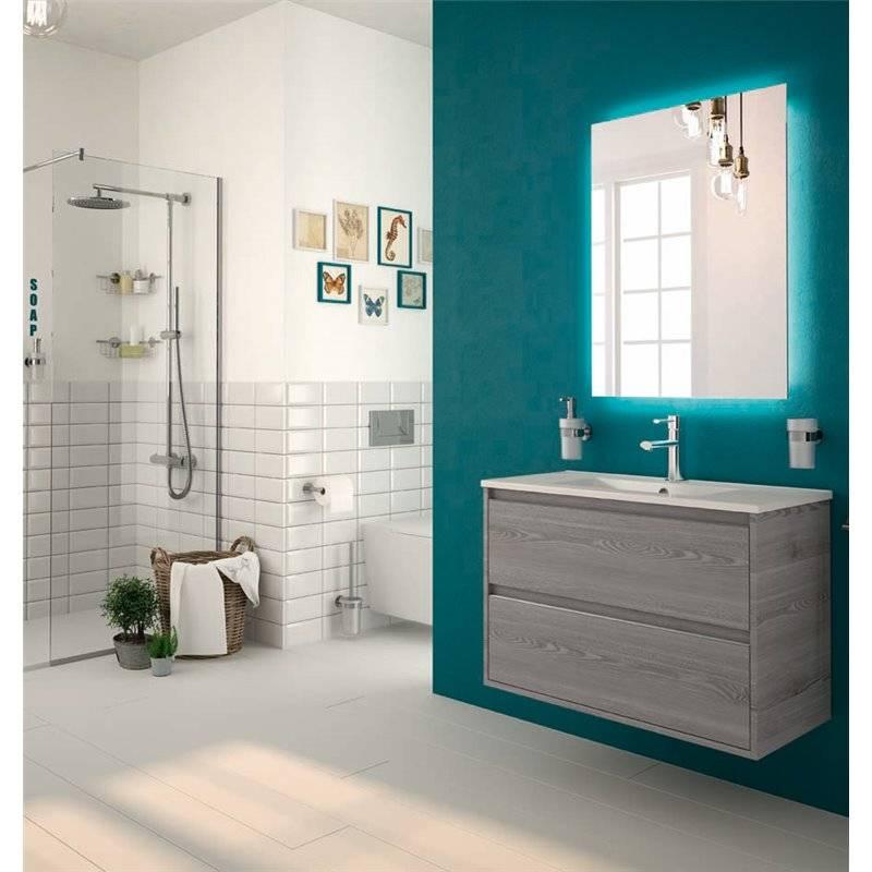 mueble 60 cm fondo reducido serie 40 salgar 21617 On muebles lavabo 40 cm fondo