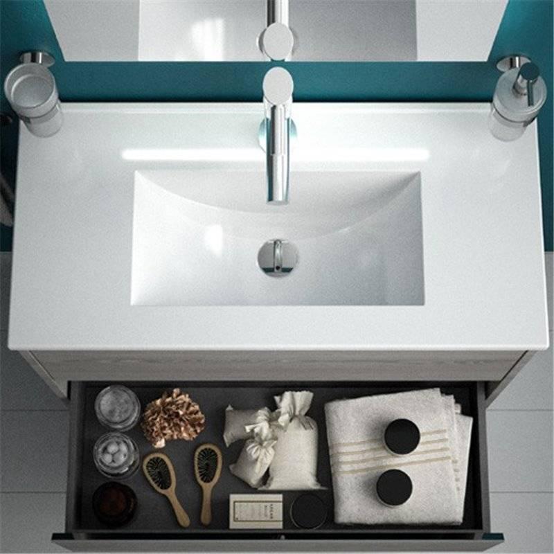 Mueble 60cm fondo reducido s40 salgar materiales de f brica - Muebles bano fondo reducido ...