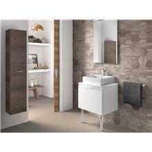 Mueble 60 cm blanco brillo Heima Roca