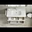 Pack mueble blanco 80cm compacto 2 cajones Debba Roca