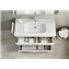Pack mueble blanco 70cm 2 cajones Debba Roca